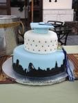 Bay Area Grad Cake